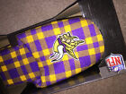 NIB Forever Collectibles NFL MINNESOTA VIKINGS Mens Slippers Purple/Gold Plaid $18.99 USD on eBay