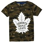 NHL Toronto Maple Leafs Camo Short Sleeve T Shirt Khaki Kids Fanatics $14.57 USD on eBay