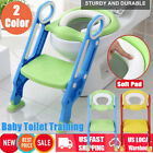Baby Kid Toilet Seat Potty Training Soft Pad Cushion Step Ladder Stool Anti-Slip image