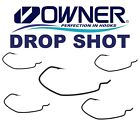 Owner Drop Shot Ganci Piuma Shot Offset Ampio Divario Piedistallo da Pesca
