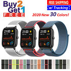 Woven Nylon Band for Apple Watch 38/40/42/44mm Sport Loop Watch Series 5 4 3 2 1 image