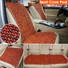 Natural Wood Beads Wooden Car Auto Seat Cover Cushion Pad Cool Breathable Summer