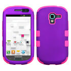 Impact Silicone/Hard Case Hybrid Protector TUFF for SAMSUNG T599 Galaxy Exhibit