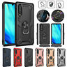 For Huawei P30 Pro Lite P Smart 2019 Y6 Case Shockproof Armor Back Cover Stand