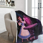New Arrive Custom Beauty and the Beast Ultra-Soft Micro Fleece Throw Blanket image