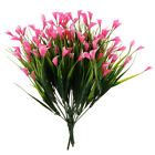 4pcs Artificial Calla Lily Fake Flowers For Wedding Bouquets Centerpieces