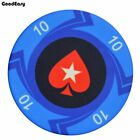 10PCS/LOT Peach Heart Coins Ceramic Texas Poker Chip Sets Casino Pokerstars EPT