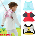 Safety Harness Baby Kid Strap Toddler Walking Keeper Backpack Anti Lost Leash US