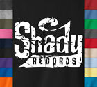 SHADY RECORDS Logo T-Shirt Slim Shady Eminem Concert Tour - Ringspun Cotton Tee image