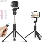 BltzWolf BW-BS5 bluetooth Selfie Stick Tripod+Remote Shutter For IOS Android