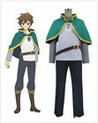 NEW Satou Kazuma Cosplay Costume KonoSuba God's Blessing On This Wonderful World