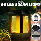 4PCS 96 LED Solar Flame Flickering Lamp Outdoor Landscape Garden Lantern Light