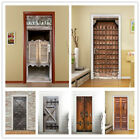 3d Door Stickers Wall Murals Decals Wallpaper Self Adhesive Vinyl Art Home Decor