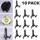"""10 PACK Plate Display Easels Stands Plastic Picture Stand Frame Holder 3,5,7,9"""""""