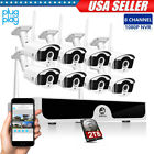 8CH 1080P Wireless HDMI NVR Outdoor Security IP Camera Home CCTV Security System