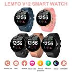Women Men Smart Bluetooth Watch Touch Fitness Tracker Waterproof for Android iOS