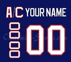 New York Islanders Customized Number Kit for 1991-1995 Blue Jersey $34.99 USD on eBay