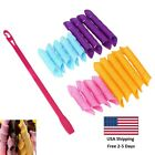 Hair Curlers Magic Long Hair NoHeat Curl Formers Leverage Rollers Spiral Ringlet