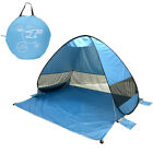 Outdoor Beach Tent Up Portable Shade Pool Anti UV Beach Tent Beach Shelter+bag