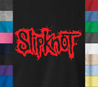 SLIPKNOT T-Shirt 90s Heavy Metal Rock Band Concert Tour Logo Ringspun Cotton Tee image