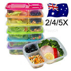 Microwave Bento Lunch Box Picnic Food Fruit Container Storage For Kids Adult J