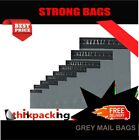 Grey Mailing Bags Strong Post Mail Postage Poly Bag Postal Self Seal Plastic new