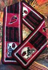 "NFL ARIZONA CARDINALS Fleece Football Scarf - Unisex 60"" X 8""  NEW on eBay"