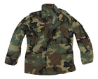 NEW GI Military M-65 Field Jacket Cold Weather Coat Woodland Camo, Sizes