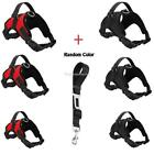 Dog Chest Strap Harness Puppy Adjustable Reflective Padded Handle Non Pull Vest