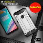 Hybrid Armor Shockproof Hybrid PC TPU Case Cover For OnePlus 7 Pro/7 6T/6 5T/5