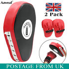 Strike Shield Boxing Kick Pads Curved Focus Mitts MMA Pad Muay Thai Punch Bags