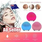 Silicone Electric Face Cleansing Brush Facial Skin Deep Cleaning Massager AU $14.89 AUD on eBay