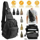 Shoulder Military Tactical Crossbody Backpack Army Travel Hiking Trekking Bag