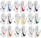 Nike Men's Vapor Jet 5.0 Football Gloves - White Pack - FREE SHIPPING