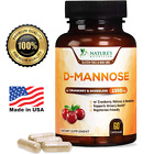 D-Mannose Capsules with Cranberry for UTI Support & Cleanse, Bladder Health $15.82 USD on eBay