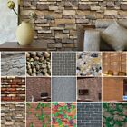 3d Wall Sticker Tile Brick Self-adhesive Vintage Kitchen Bathroom Home Decor Us