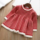 Girls Dress Plaid Autumn Winter Children Toddler Baby Clothes Kids Princess Tutu $31.46 USD on eBay