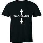 Two Seater Arrows Funny College Humor Shirt Gift Tee Sarcastic Men's T-shirt image