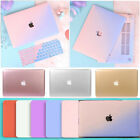 "Metallic Cream Matte Hard Case Keyboard Cover for Macbook Air Pro 11"" 12"" 13""15"""