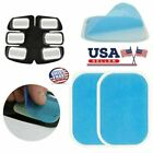 US 2-20Pcs Trainer Replacement Accessories Silica Gel Sheet For Muscle Simulator image