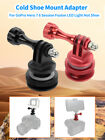 BGNING Diving Camera Waterproof Shell Hot Shoe Foot Connector Mount for Gopro