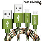 2Pack Agoz 10ft,6ft,4ft Camo Micro USB Cable Fast Charger Data Cord for Samsung
