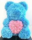 Foam Rose Flower Unicorn Christmas Gift  Rose Teddy Bear For Birthday Wedding
