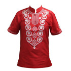 African Embroidered Awesome Colors Traditional Mali Vintage Top Y20451