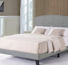 Leblanc Upholstered Furniture Bedroom Bed Frame HeadBoard, King and Twin Size .