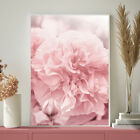Peony Rose Botanical Blush Pink, Rose Gold Floral Art Bedroom Print A4 A3 A2 A1