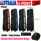 PGM Stand Golf Aviation Bag Wheeled Large Capacity Thick Travel Golf BagFoldable