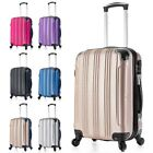Kyпить Carry on Luggage 22x14x9 Travel Lightweight Rolling Spinner Hard Shell Black New на еВаy.соm