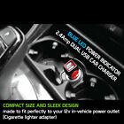 Cellet Fast 12W 2.4A Dual USB Port Car Charger + Micro USB Cable for Smartphones
