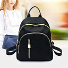 Women Small Backpack Travel Nylon Handbag Shoulder Bag Black Gifts Fashion image